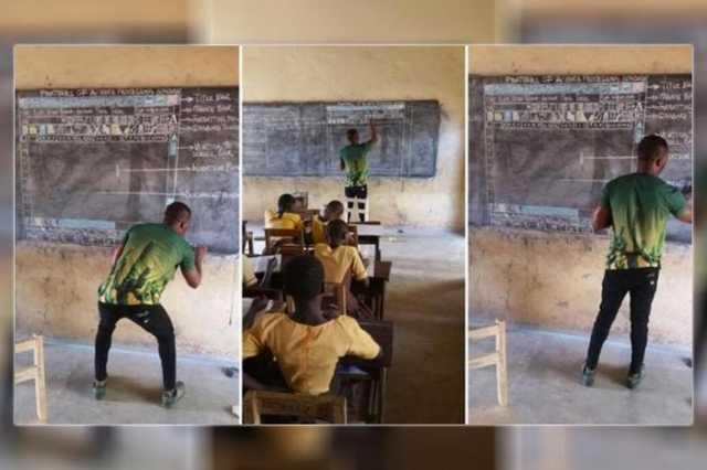 Informatika tanítás Ghánában