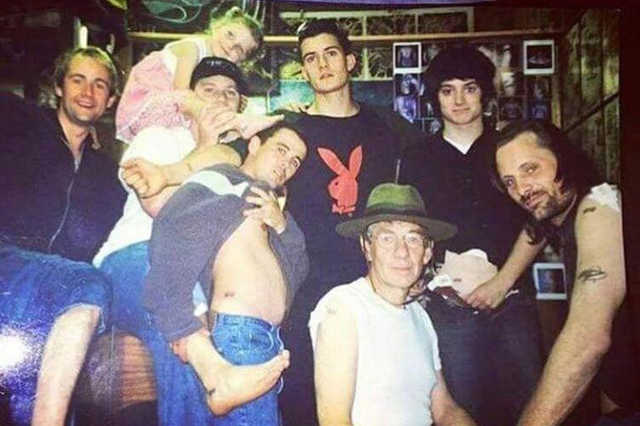 A Gyűrűk ura színészei 2002-ben