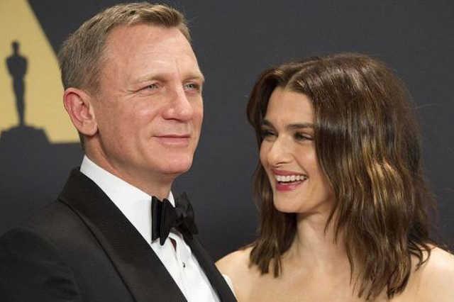 Daniel Craig és Rachel Weisz