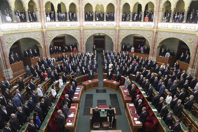 Az Országgyűlés alakuló ülése