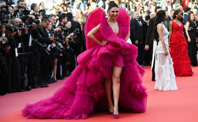 Cannes-i sztárparádén Deepika Padukone