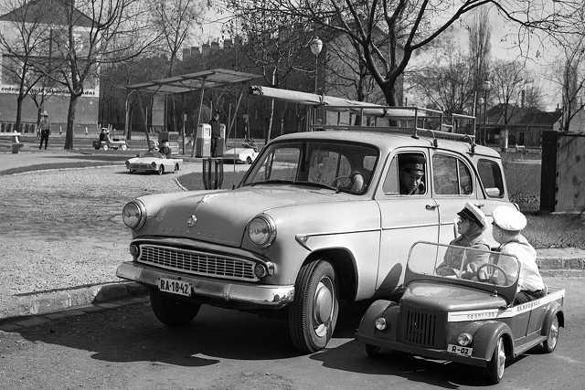 Budapest, Gyermek tér, gyermek közlekedési park