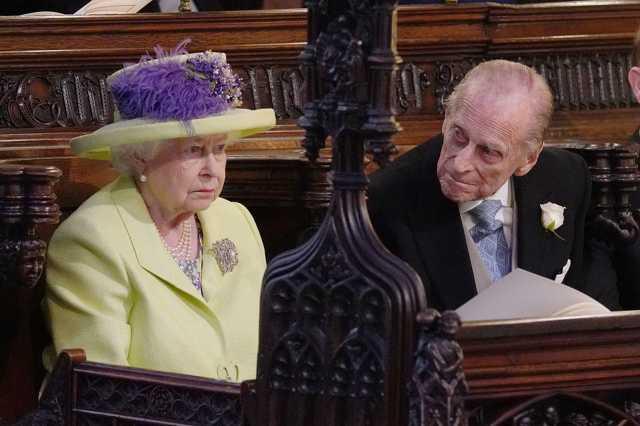 rzsébet királynő és férje, Fülöp herceg