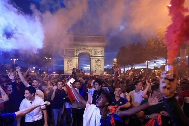 Franciák ünneplik a vb-döntőbe jutást