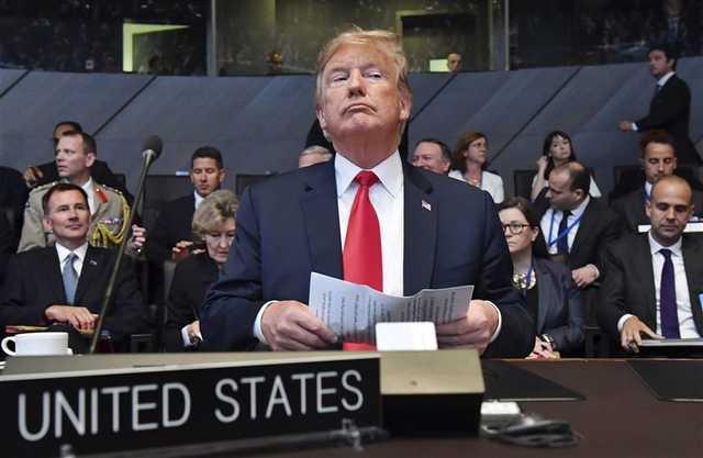 Trump a NATO-csúcson