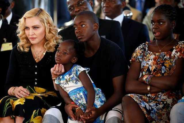 Madonna és családja