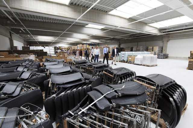Az ADA gyártóüzemének átadása Körmenden
