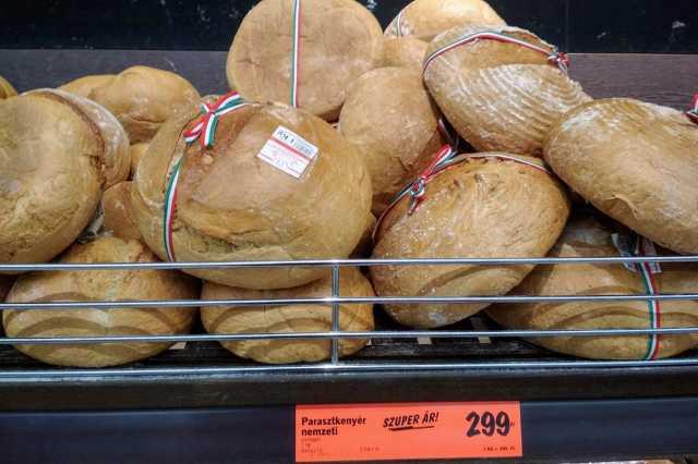 Lidl, nemzeti szalagos kenyér