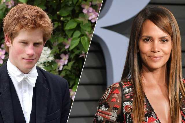 Halle Berry és Harry herceg
