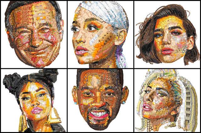 Emoji-portré sztárokról
