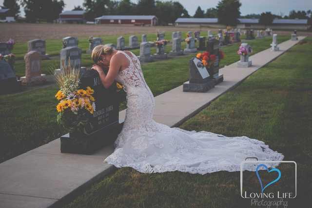 Gyászoló menyasszony