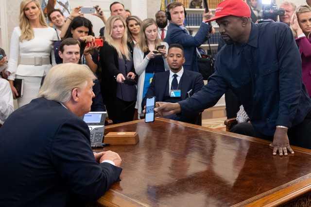 Kanye West és Donald Trump