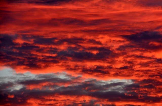 Izzó napkelte Szombathelyen