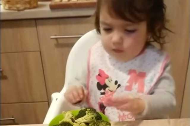 A pécsi kislány, aki nem szereti a csokit