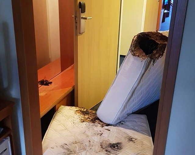 Több szobában izzott a matrac egy bükfürdői szállodában