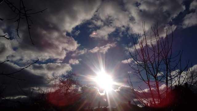 Akár egy karácsonyi csillag – ilyen ragyogó napsütéses december 24-énk volt
