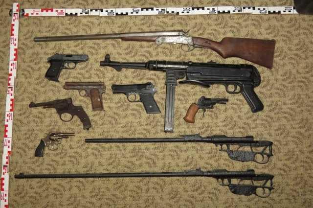 Fegyvereket találtak Nagyatádon