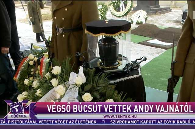 Andy Vajna temetése a TV2-n