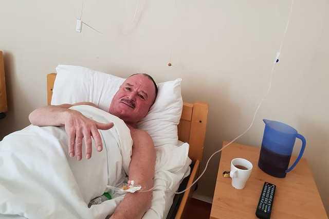 Nagy Feró kórházban