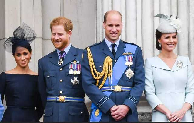 Az engol hercegi testvérpár és feleségeik