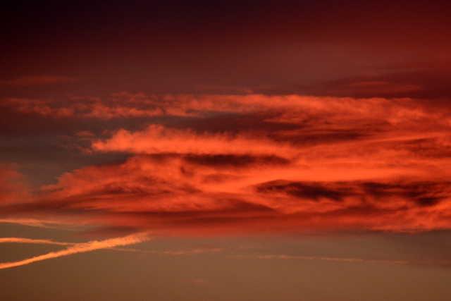 Csodás naplemente 02.21-én