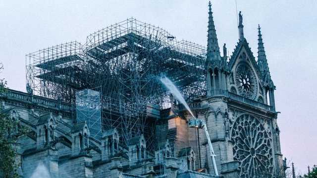 A Notre-Dame a tűz után