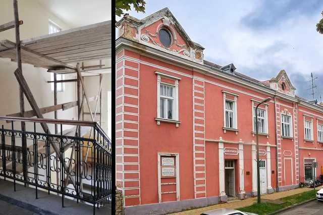 Vasvári Zeneiskola felújítása