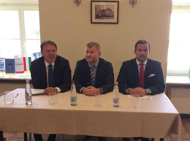 Pro Savaria és Jobbik közös sajtótájékoztató