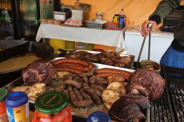 Étel és italárak a Savaria karneválon