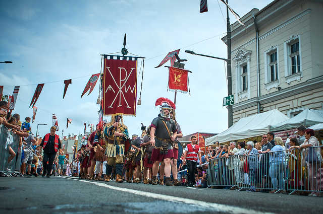 Savaria karnevál felvonulás megismétlése