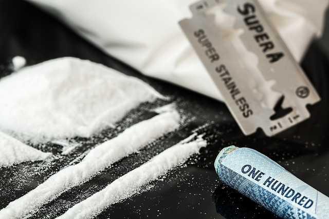 Kokain, kábítószer, drog,