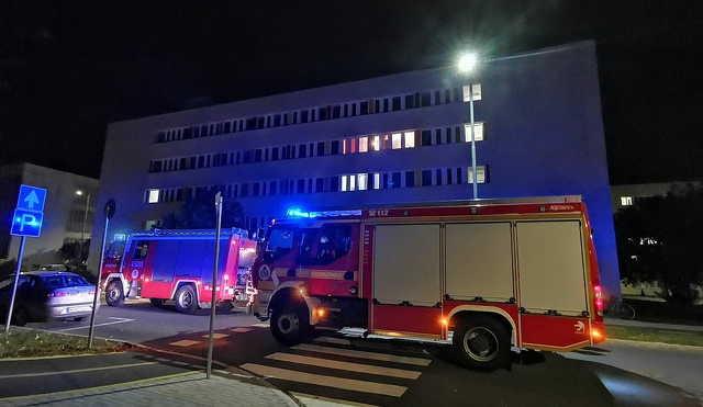 Tűz volt egy szombathelyi kollégiumban