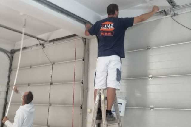Kifestették a büki mentőállomást