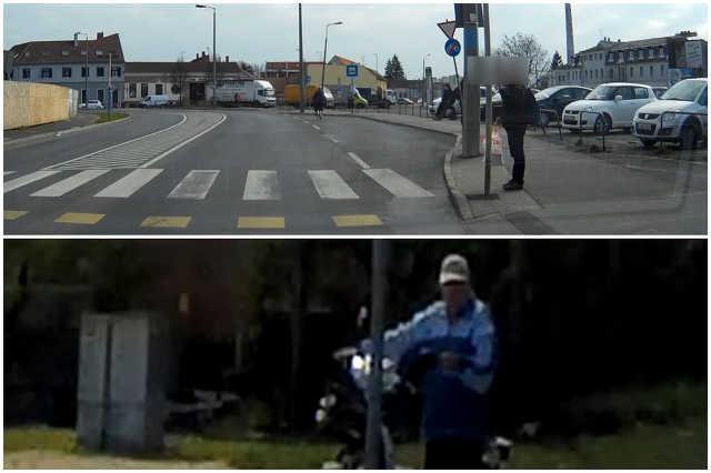 Az autóvezetők egyik rémálma: Gyalogátkelőhelynél álló, de el nem induló, integető gyalogosok