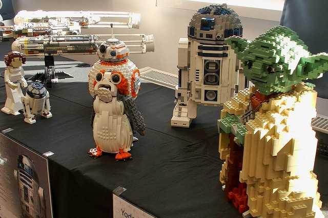 Lego kiállítás az Agorában