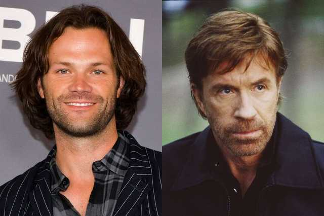 Jared Padalecki és Chuck Norris