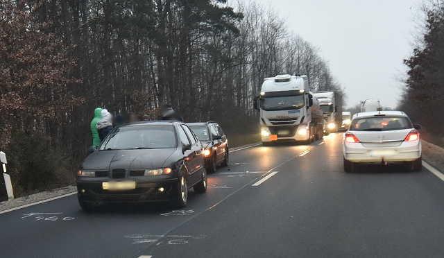 Eltűnt a balesetet okozó autó