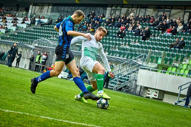 Haladás-Szeged labdarúgó mérkőzés NB2