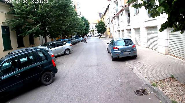 Malom utca parkolás