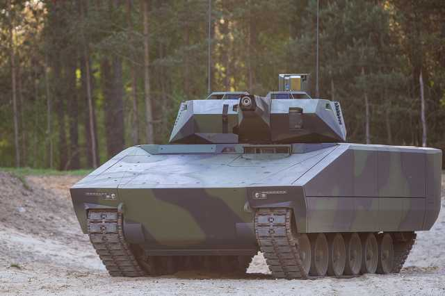 Modern tank