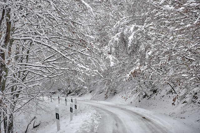 Havazás a kőszegi hegységben