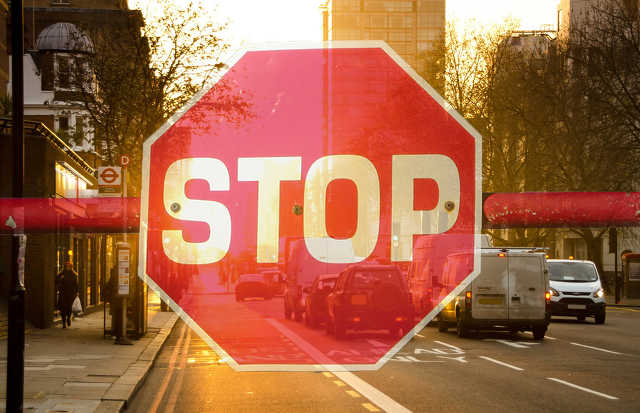 Stop, lezárás