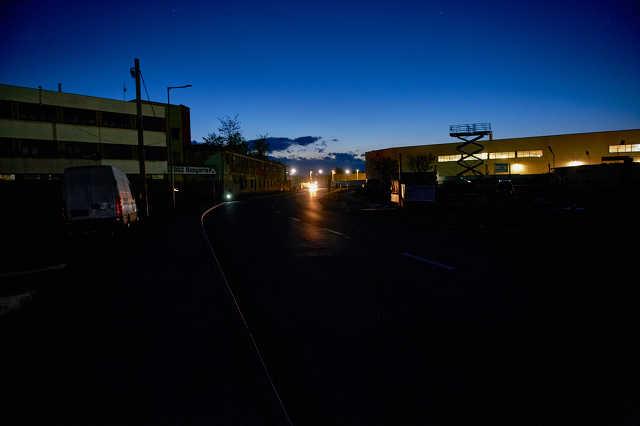 Sötétség a Vépi úton