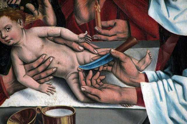 Jézus körülmetélése Friedrich Herlin