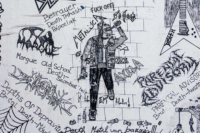 Death Metal buli plakátja 2009-ből