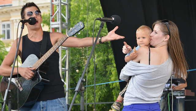 Közönség a Magyar Dal Napján és a Big Band fesztiválon