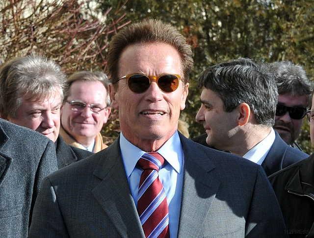 Arnold Schwarzenegger Güssingben - Megújuló energiákat népszerűsít az ex-Terminátor