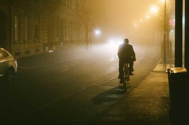 Köd a belvárosban