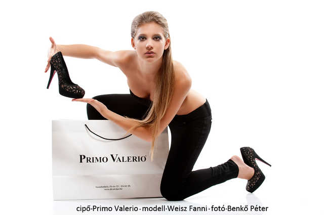 Fanni a Primo Valerio fotózásán
