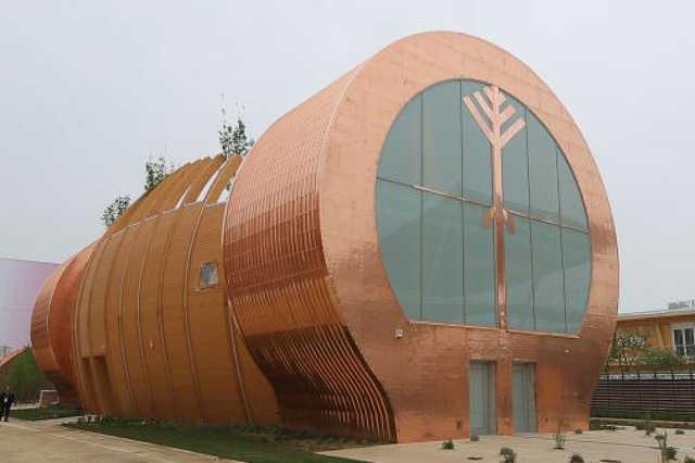 Milánói Expó magyar pavilonja